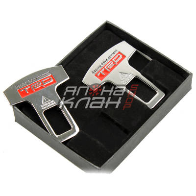 Заглушки для ремней безопасности TRD (2шт)